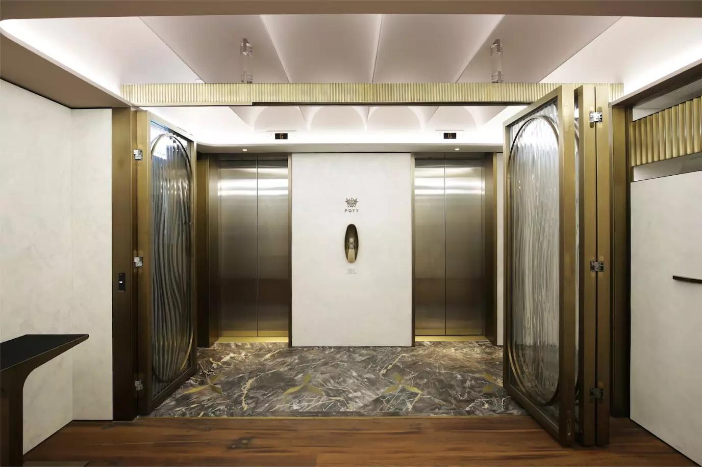 建筑和室内设计公司POTT品牌视觉设计