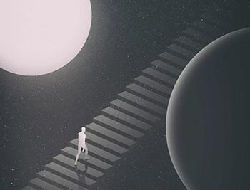 未知的宇宙!艺术家Anxo Vizcaíno的探索插画作品