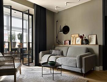 营造轻奢之美!88㎡高级灰风格气质公寓畅博官网手机app