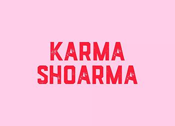 美味蔬菜饼!Karma Shoarma餐厅品牌设计