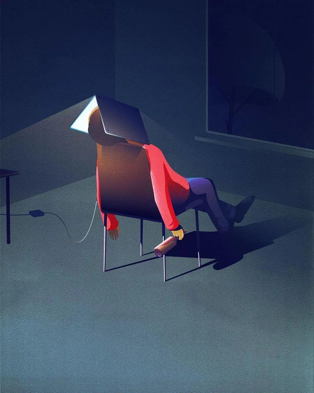 脑洞大开!Jan Siemen插画作品欣赏
