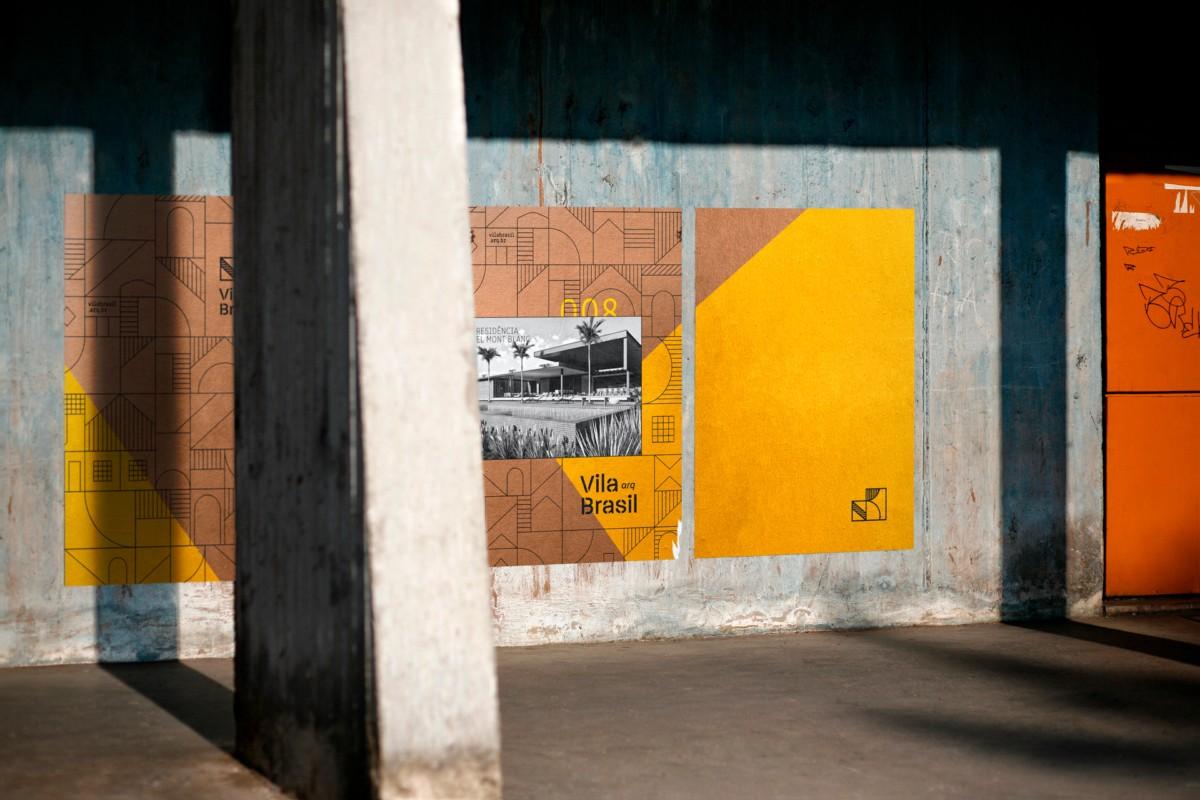 Vila Brasil建筑事务所品牌视觉畅博官网手机app