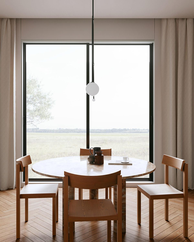 清新绿植+天然木纹!3间舒缓安静的住宅空间