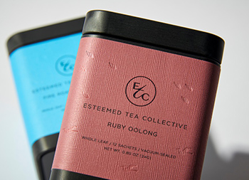 Esteemed Tea Collective茶包装设计
