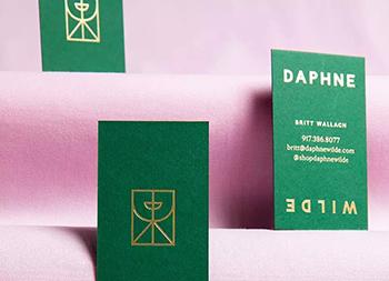 服饰品牌Daphne Wilde视觉形象设计
