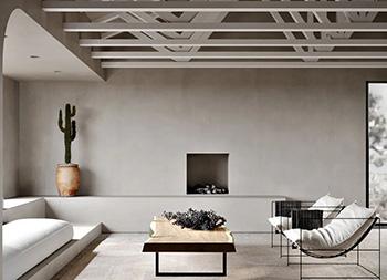 现代侘寂美学的米兰独栋别墅