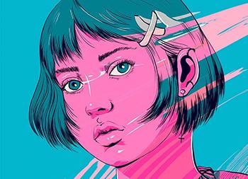 抽象,幻想,超现实主义!Carolina Rodriguez Fuenmayor插画作品