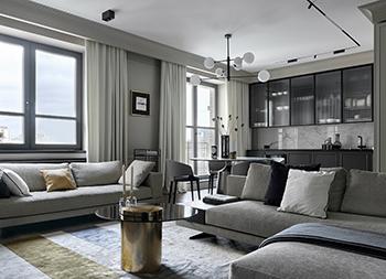 高级灰+简约风的精致公寓畅博官网手机app