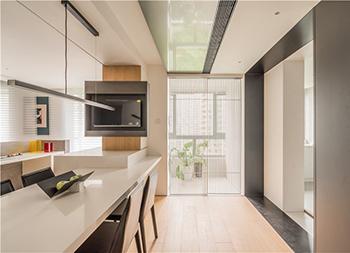 100平两代同居的现代简约住宅
