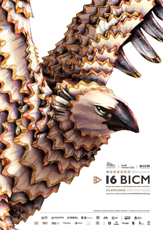 2020第16届墨西哥国际海报双年展-A类入选作品欣赏