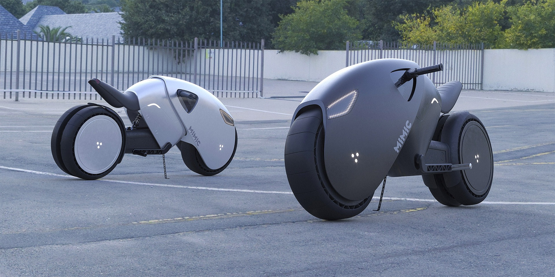 Roman Dolzhenko:未来派电动概念车设计
