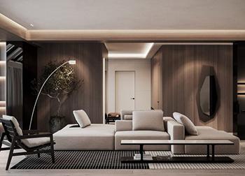 休闲,简约!440平两层公寓的活力空间