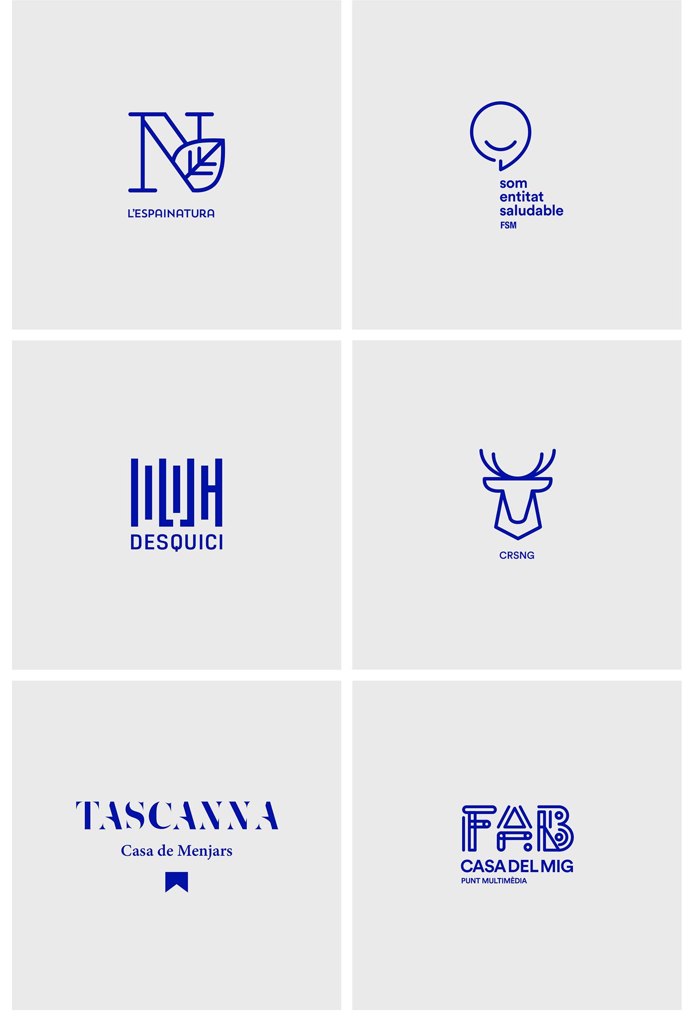 西班牙Álvaro Studio标志设计作品