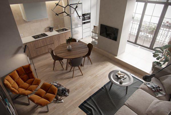 40个舒适的家庭小餐厅设计