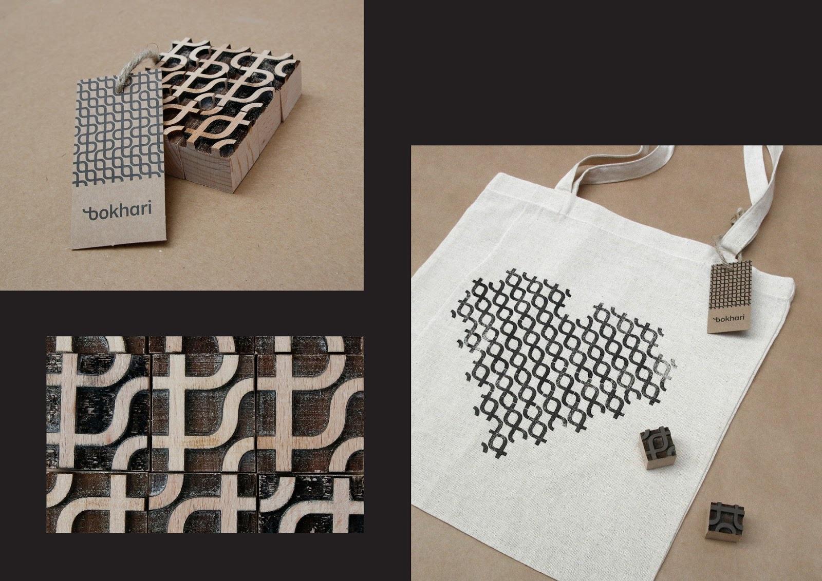 挪威Bokhari纺织品品牌视觉设计