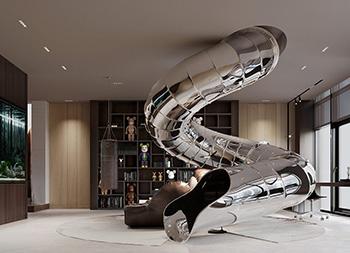 艺术高端,超奢华!俄罗斯1100平顶层复式豪宅
