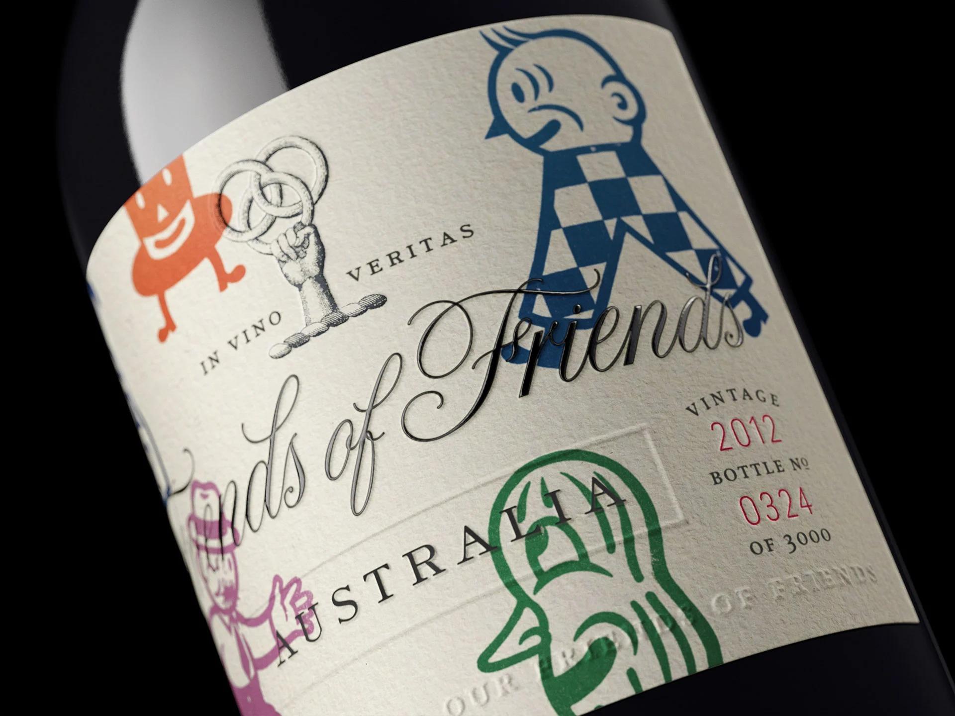 澳大利亚工作室Co-Partnership酒包装设计