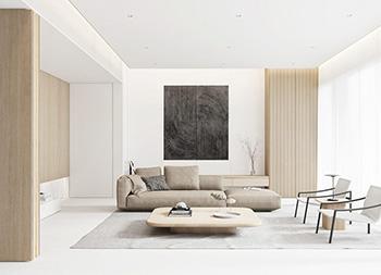 白色+自然木质元素,5个清新优雅的现代家居设计