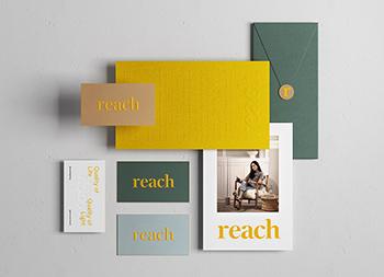 时尚灯具品牌Reach视觉形象和包装设计