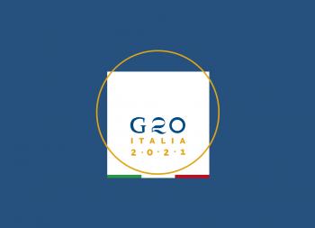 灵感源自达·芬奇的维特鲁威人!2021年G20峰会会徽发布