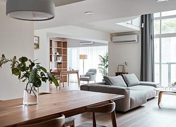 充满了暖暖的光与爱!2间开放式简约家居空间