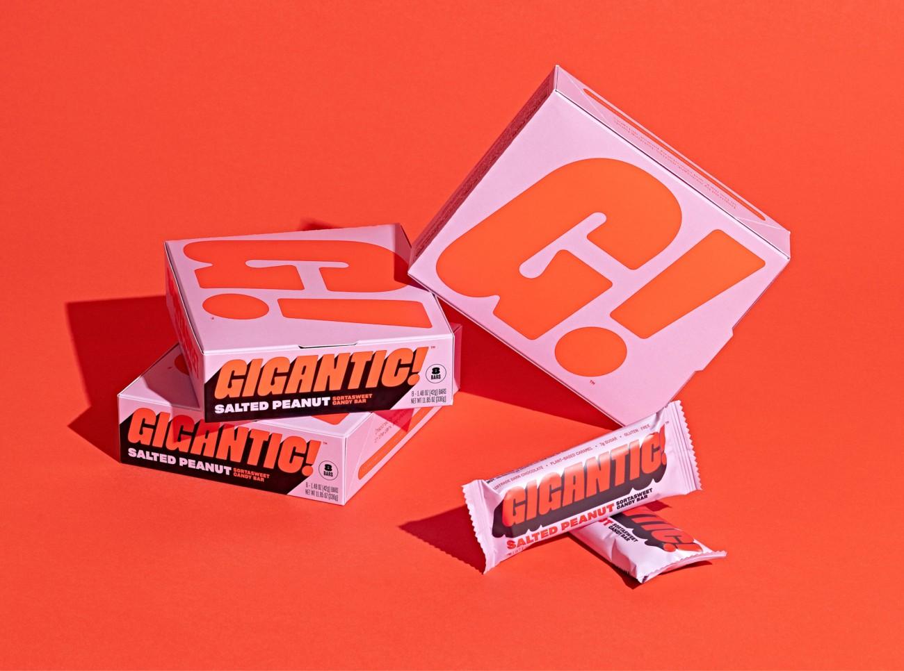 GIGANTIC!巧克力棒零食包装w88手机官网平台首页