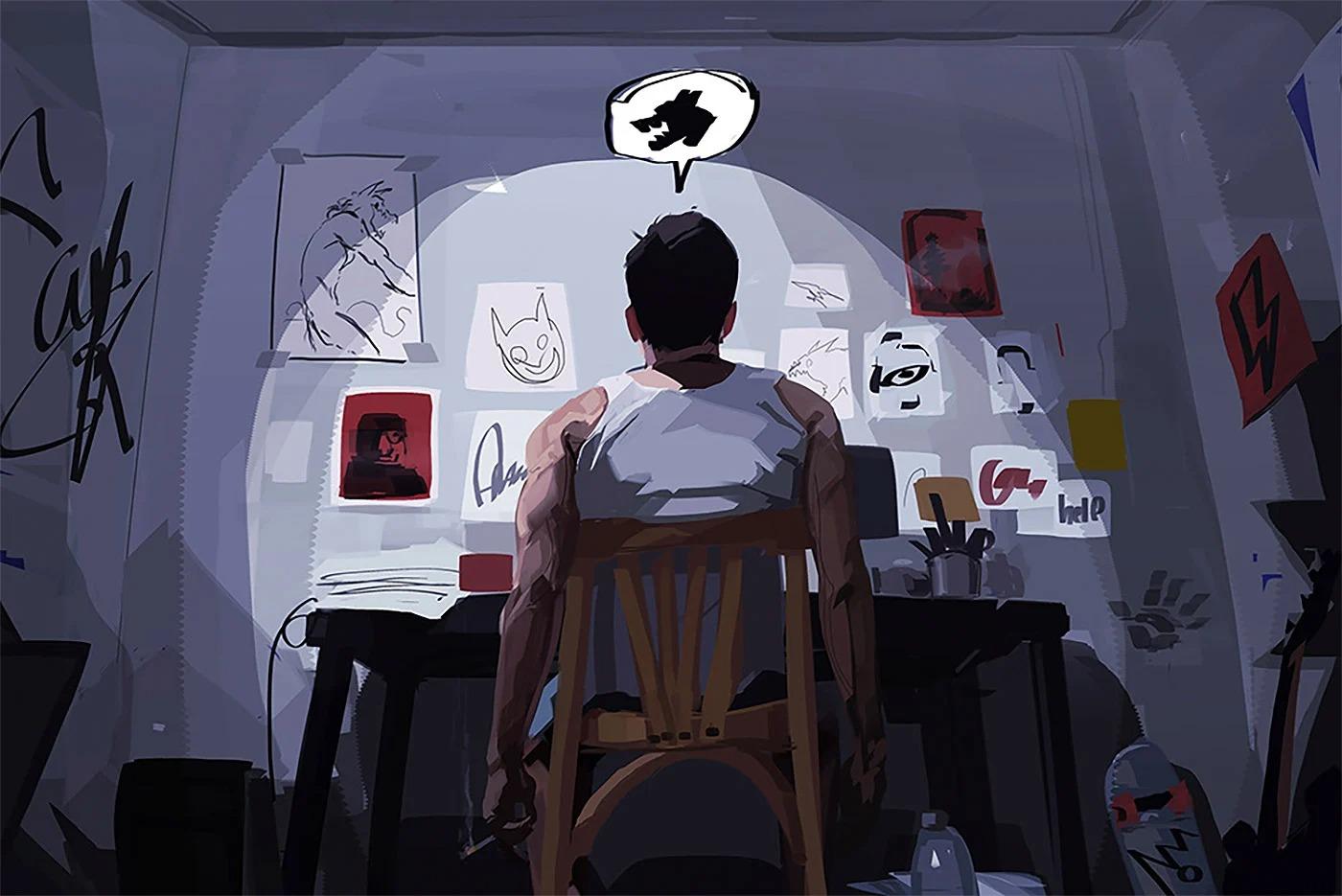Amr Adel概念风格插画作品