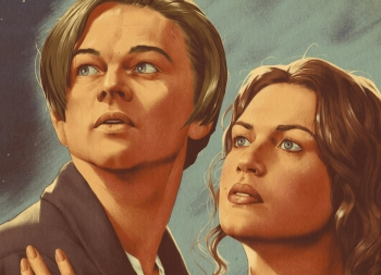 Alexey Kot插画复古风格电影海报设计