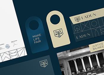法律咨询平台Ladun视觉形象设计
