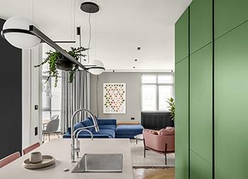 舒适的氛围,146平精致的现代住宅设计