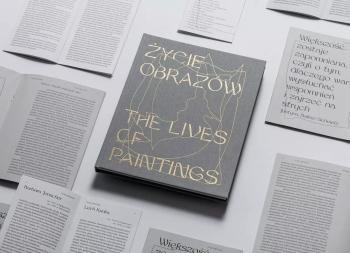 The Life of Paintings:艺术展图书设计