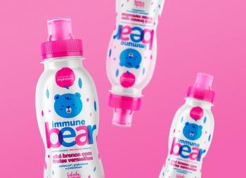 Immune Bear儿童饮料食品包装w88手机官网平台首页
