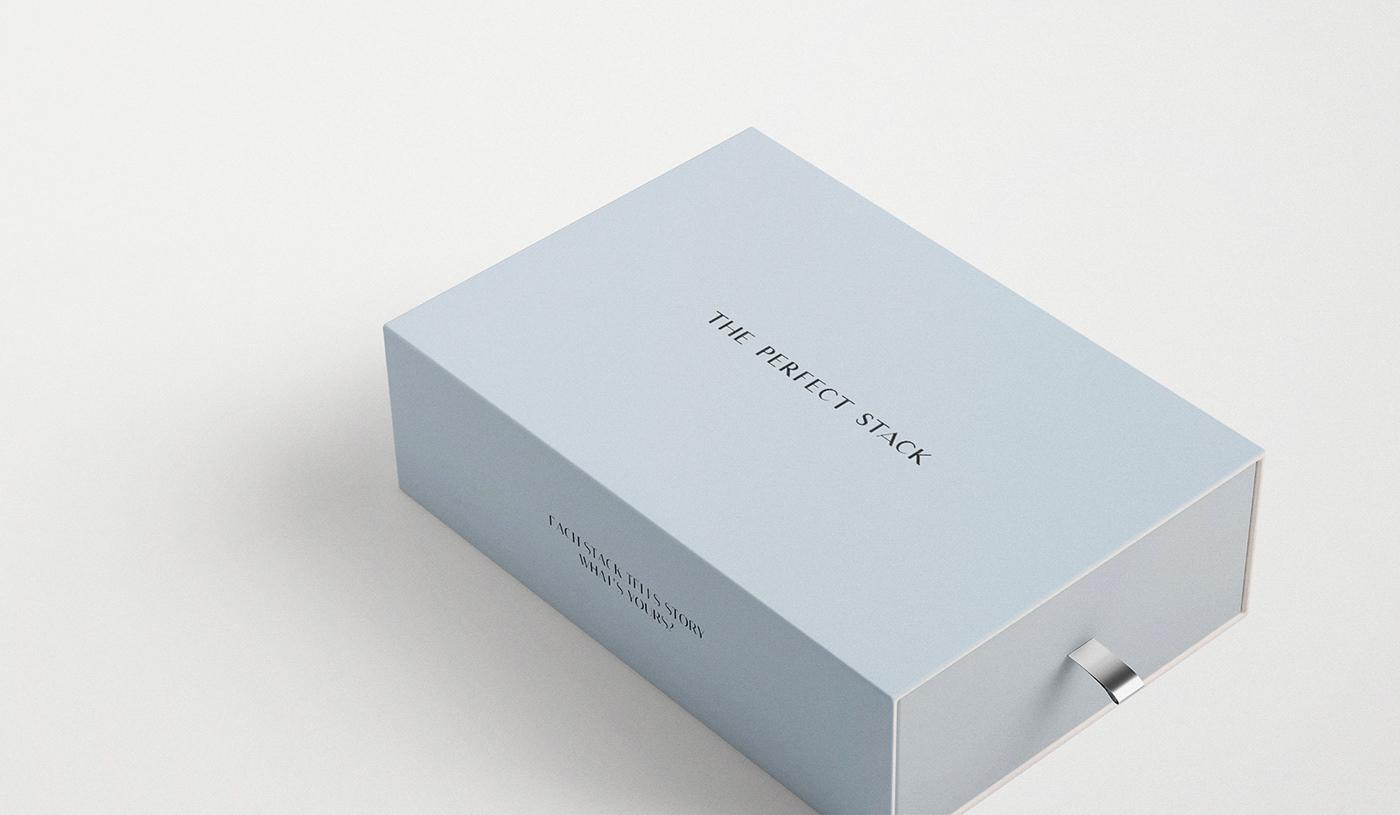 The Perfect Stack珠宝品牌视觉设计欣赏