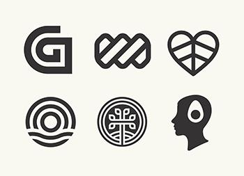 Allan Peters:105款logo设计作品集