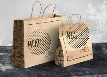 Meatless创意快餐品牌形象设计
