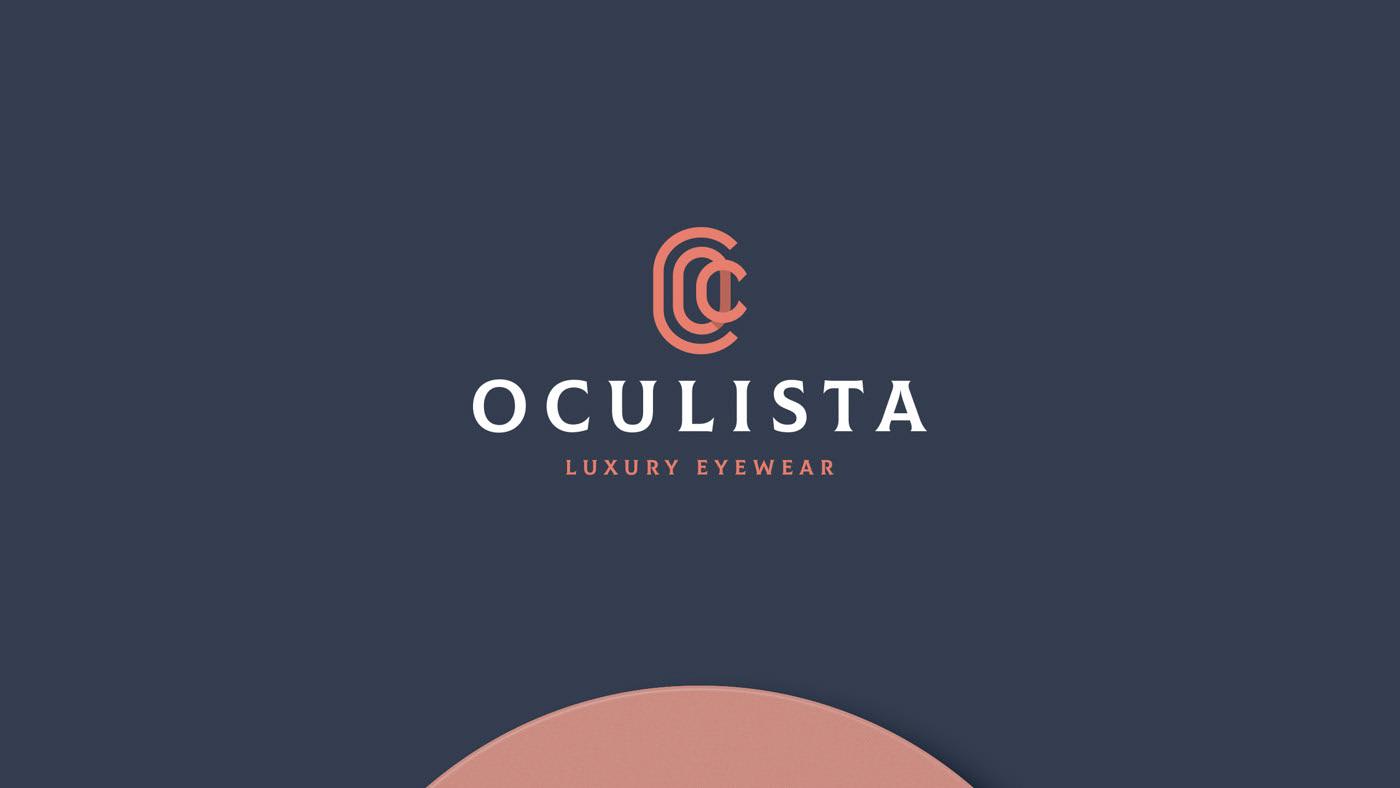 Oculista眼镜品牌视觉形象设计