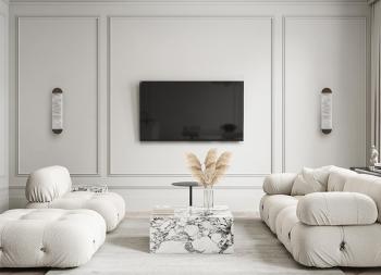 温暖舒适的简约装饰!TSVET 32现代公寓设计