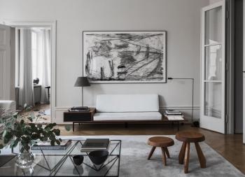 瑞典设计师Louise Liljencrantz温馨的家