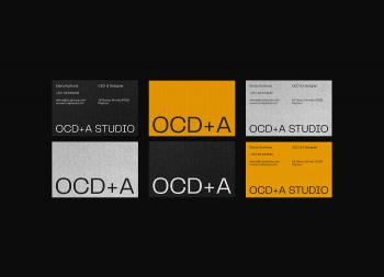 OCD + A建筑设计工作室品牌视觉设计