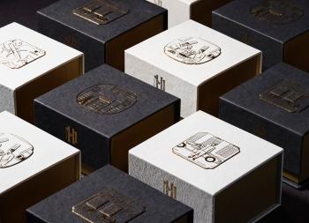 Metropole月饼礼盒包装设计