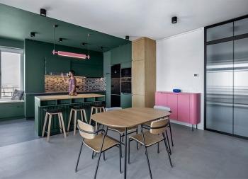 多彩的生活!Yerevan公寓設計