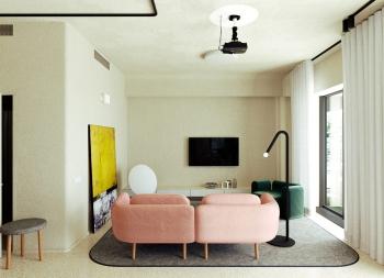 拥抱自然光!105平温馨舒适的家居空间