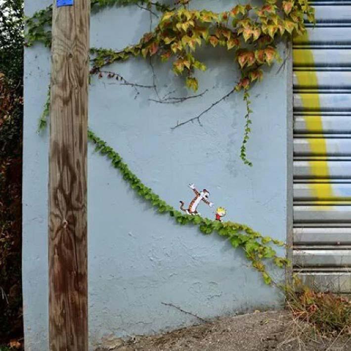 100款巴黎街头有趣的涂鸦艺术作品