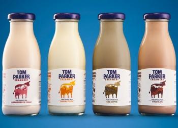 开心牛,开心牛奶!Tom Parker牛奶包装设计