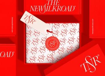 The New Silk Road贸易公司品牌VI设计