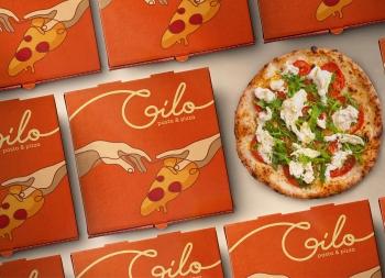 Gilo比萨餐厅品牌视觉设计