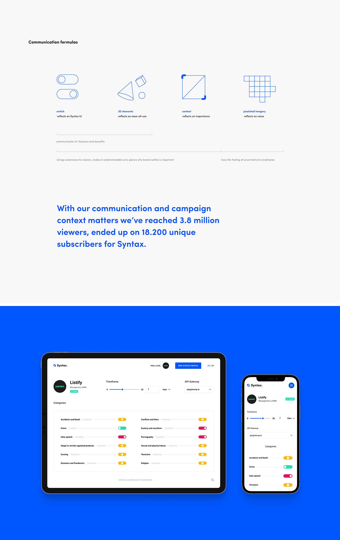Syntax品牌和UX用户体验w88手机官网平台首页