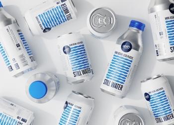 Open Water纯净水包装设计
