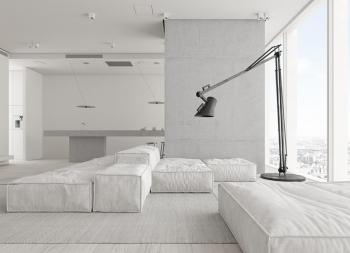 全景视界!奢华极简主义风格的家居设计