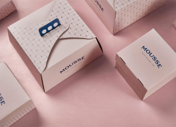 Mousse蛋糕店品牌形象设计